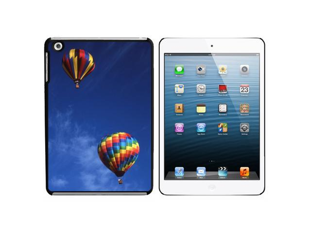 Hot Air Balloons Snap On Hard Protective Case for Apple iPad Mini - Black