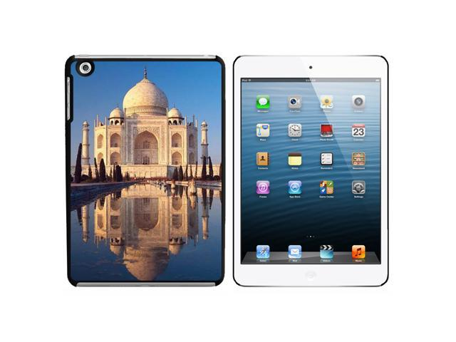 India - Taj Mahal Snap On Hard Protective Case for Apple iPad Mini - Black