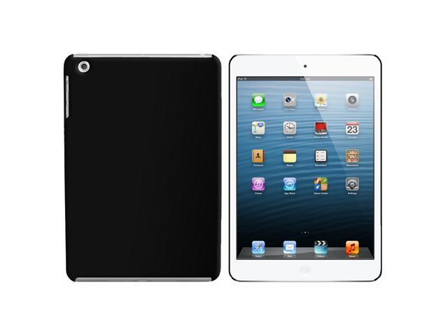Black Snap On Hard Protective Case for Apple iPad Mini - OEM
