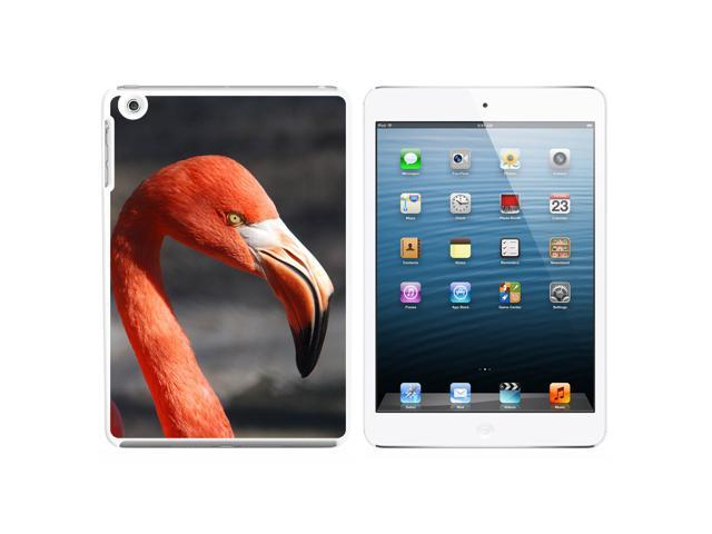 Flamingo Portrait Snap On Hard Protective Case for Apple iPad Mini - White - OEM