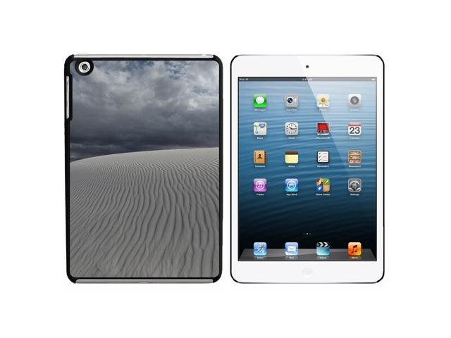 White Sands National Monument New Mexico - Desert Dune Snap On Hard Protective Case for Apple iPad Mini - Black - OEM