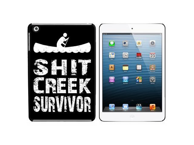 Sh*t Creek Survivor Snap On Hard Protective Case for Apple iPad Mini - Black
