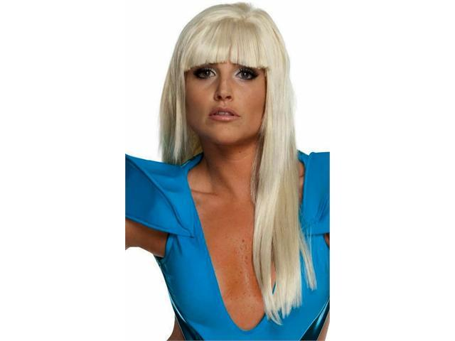 Lady Gaga Straight Wig with Bangs