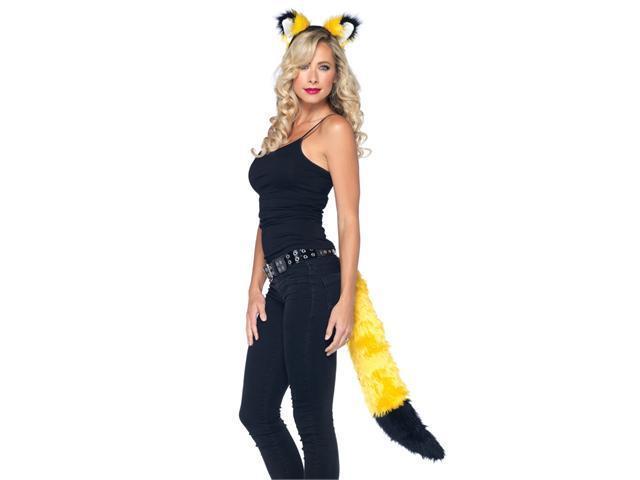 Adult Fox Accessory Kit Yellow