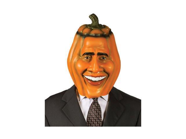 Obama Pumpkin Head Mask