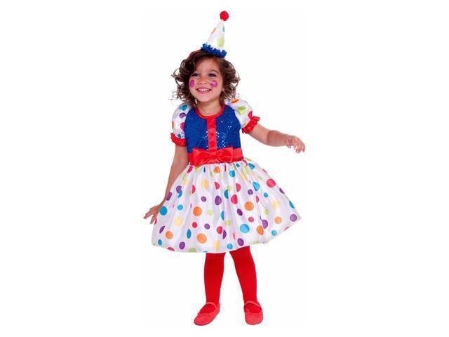 Dottie the Clown Toddler Girls Costume