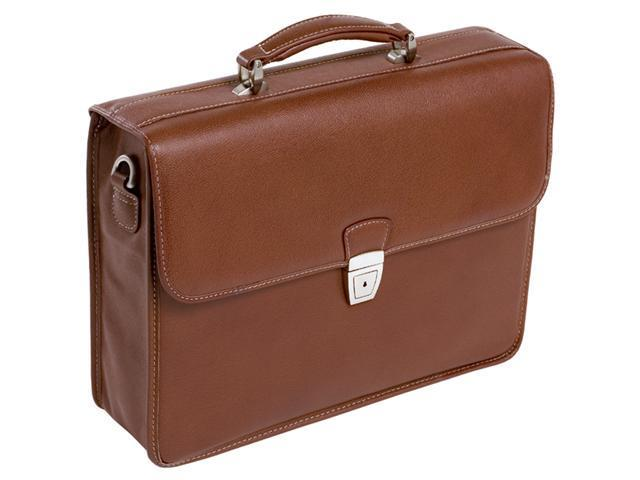 Mcklein Ashburn Leather Laptop Case