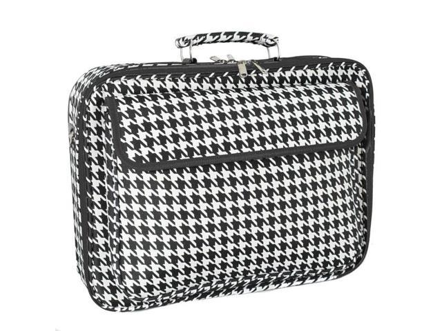 """All-Seasons 17"""" Laptop Computer Case - Houndstooth"""