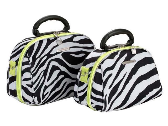 Rockland Luggage 2 Piece Cosmetic Case Set