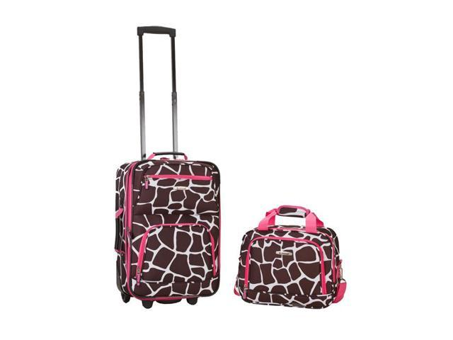 Rockland Luggage Rio 2 Piece Carry On Luggage Set