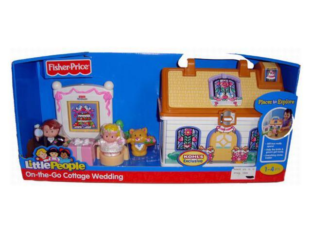 Fisher Price Little People Cottage Wedding Take along