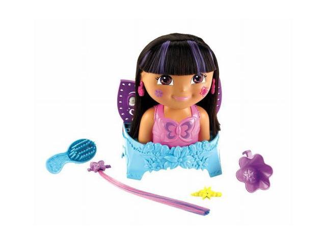 Dora's Enchanted Forest Suds & Style Fairy Dora Color Change Hair Styling Doll