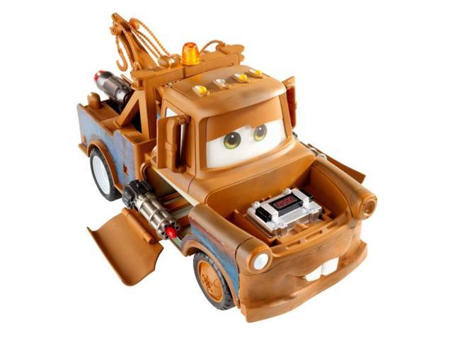 Fisher Price Disney Cars Bomb Blastin Mater Interactive Tow Truck 70 Sounds
