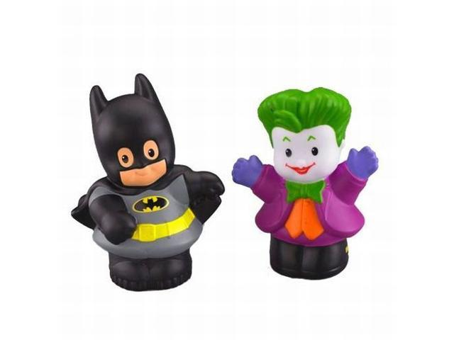 Fisher Price Little People DC Super Friends Batman and The Joker