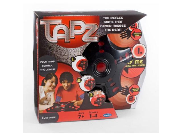 Radica Tapz Electronic Reflex Memory Music Game 5 Different Games