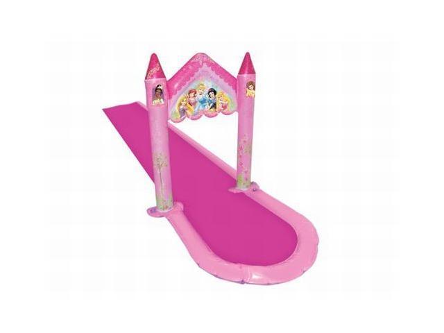 Swim Ways Disney Princess Enchanting Castle Water Slide 15' Water Tunnel