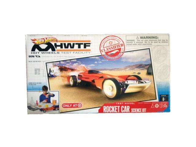 Hot Wheels Test Facility HWTF Rocket Car Sciece Kit