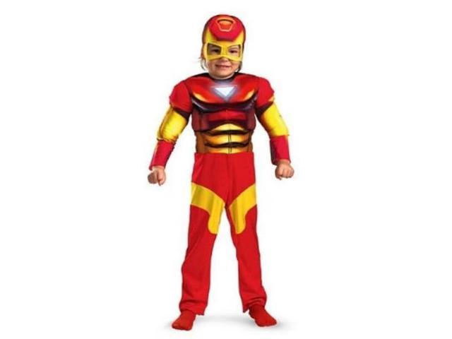 Marvel Comics Toddler Boys Iron Man Muscle Costume  sc 1 st  Meningrey & Iron Man Costume Toddler - Meningrey