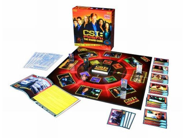 CSI Miami The Board Game Collect Evidence Solve Crimes 9 Cases
