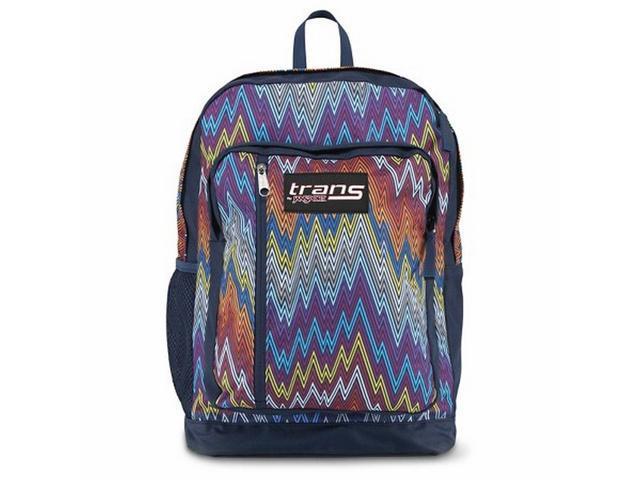 Trans by Jansport Megahertz II Backpack Multi-colored Chevron ...