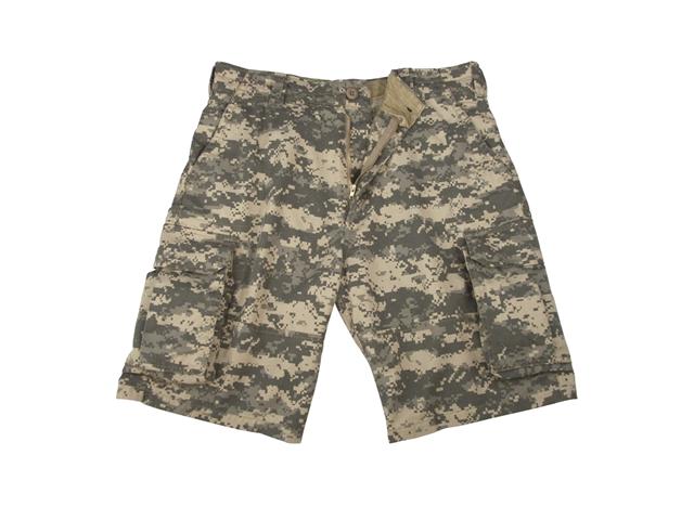 Vintage ACU Digital Camo Cargo Shorts, Mens Size L