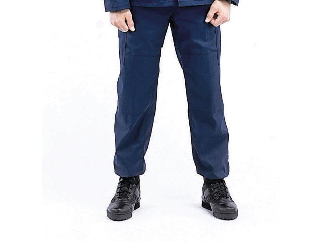 Navy Blue  BDU Pants, Military Fatigues, XL