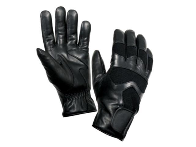 Rothco Cold Weather Leather Shooting Gloves in Black, XX Large