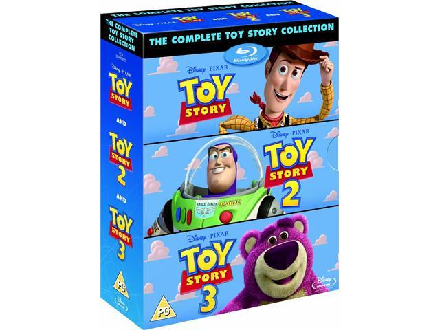 Toy Story Trilogy 3-Movie Collection Blu-Ray Box Set (Toy Story / Toy Story 2 / Toy Story 3)