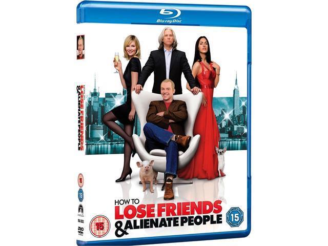 How To Lose Friends & Alienate People Blu-ray [Region-Free]