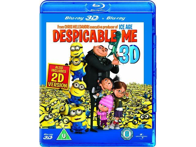 Despicable Me 3D Blu-ray [Region-Free]
