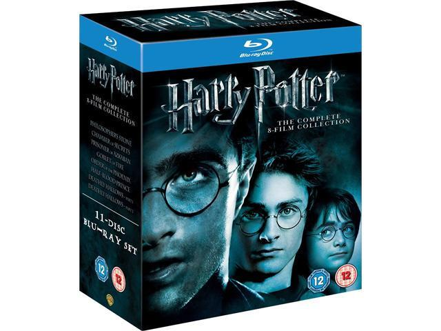 Harry Potter: The Complete 8-Film Collection Blu-ray