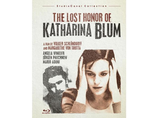 the lost honor of katharina blum essay A dvd review by glenn erickson (dvd savant) of the film the lost honor of katharina blum.