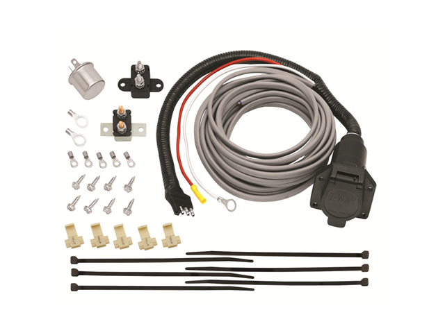 118607 Trailer Brake Controller Wiring with 7 Pole Plug