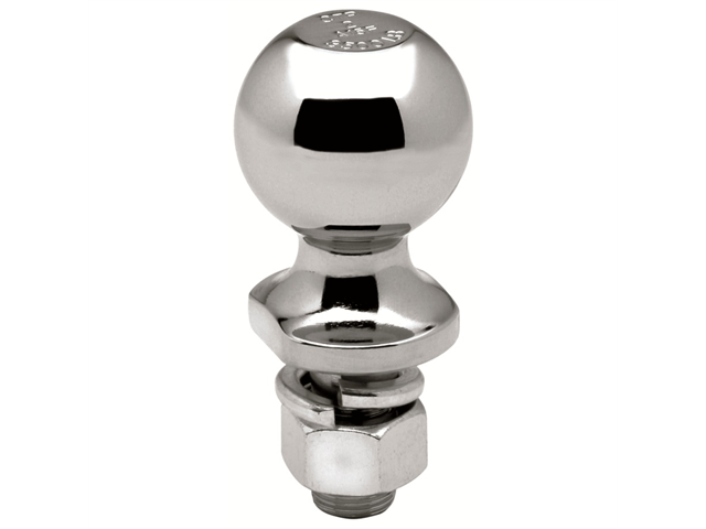 Tow Ready 63889 Packaged Hitch Ball, 2 x 0.75 x 2.37 In. 3, 500 Lbs. GTW Chrome, 2.75 x 2.56 x 6.88 in.