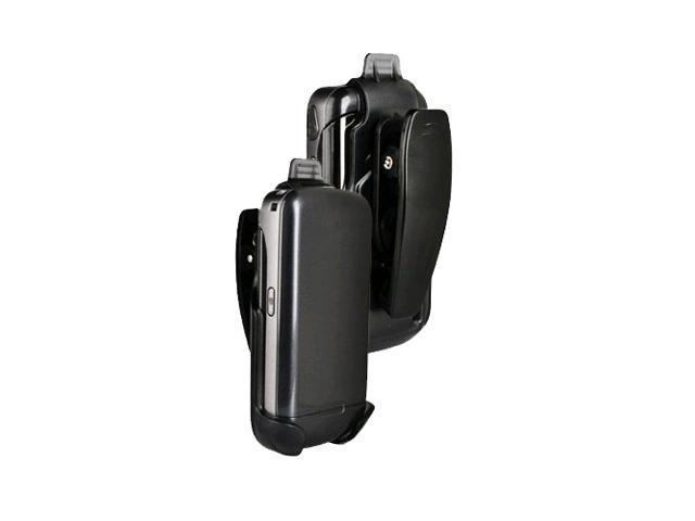 Verizon LG Accolade VX5600 Belt Clip Holster, Translucent Black (Bulk Packaging)