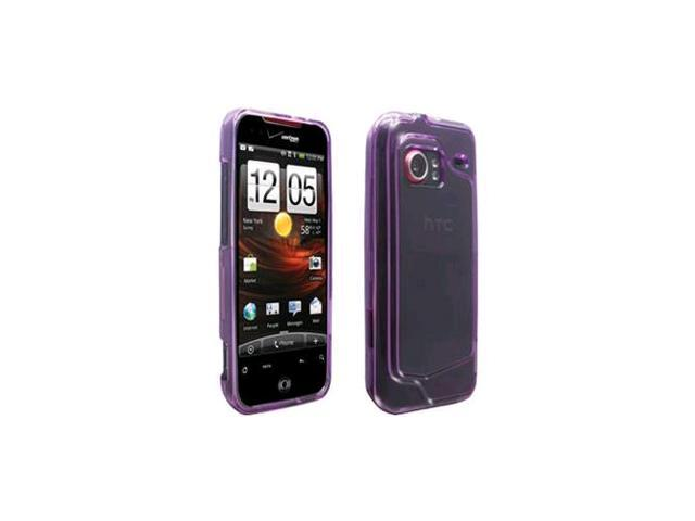 OEM Verizon Snap-On Case for HTC Droid Incredible 6300 (Translucent Purple) (Bulk Packaging)