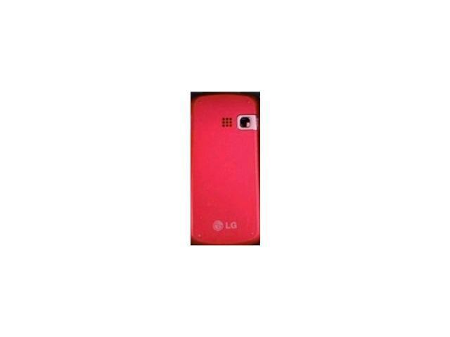 OEM LG AX265 UX265 Rumor2 Banter Battery Door - Red