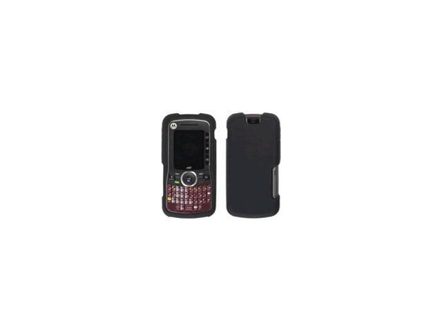 Silicone Gel Case for Motorola_iDEN Nextel i465 - Black