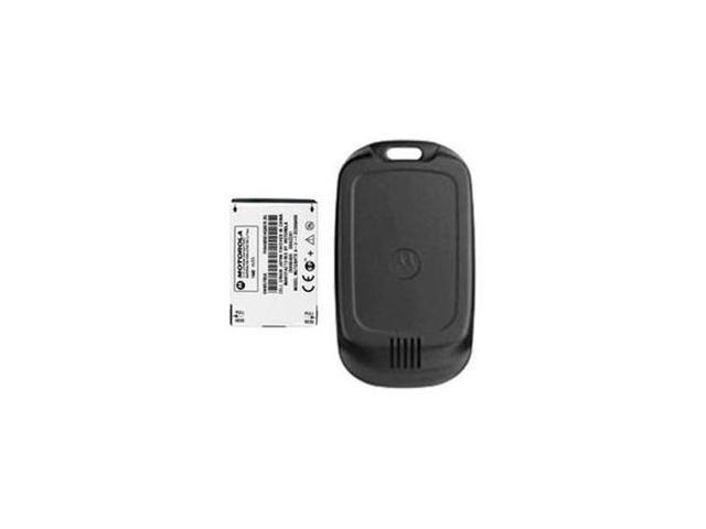 OEM Motorola W315 Extended Battery & Door SNN5765A  (Black)