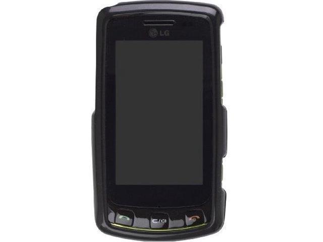 Snap-On Case for LG Bliss UX-700 (Black)