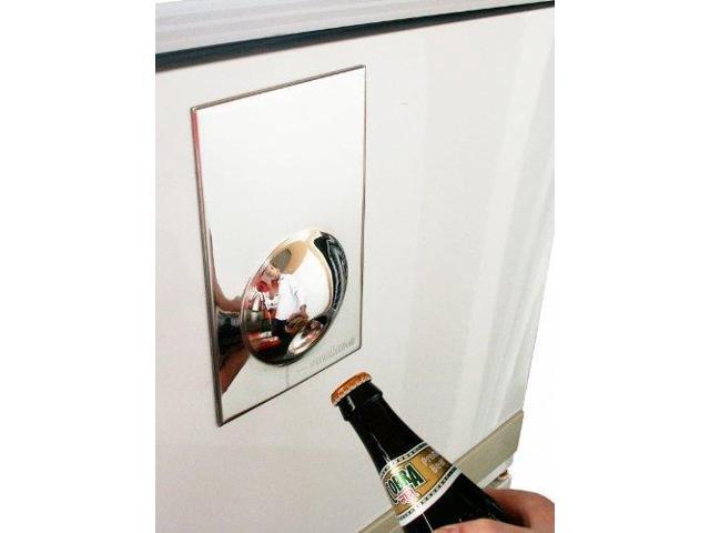 magnetic fridge bottle opener stainless steel. Black Bedroom Furniture Sets. Home Design Ideas