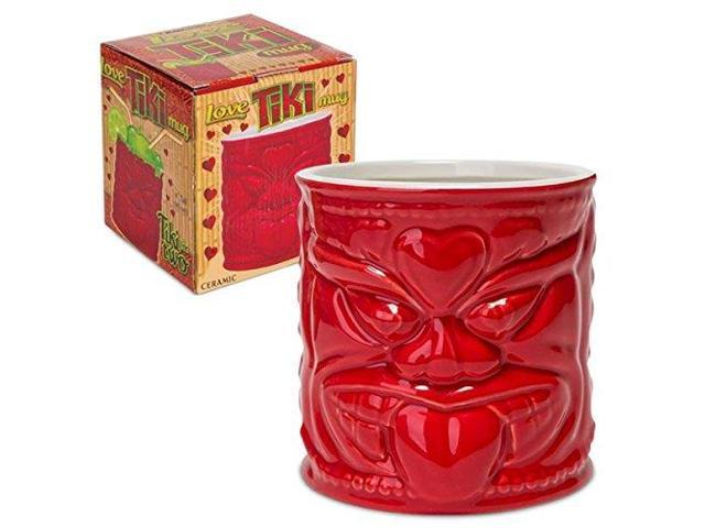 Love Tiki Mug  16 ounce