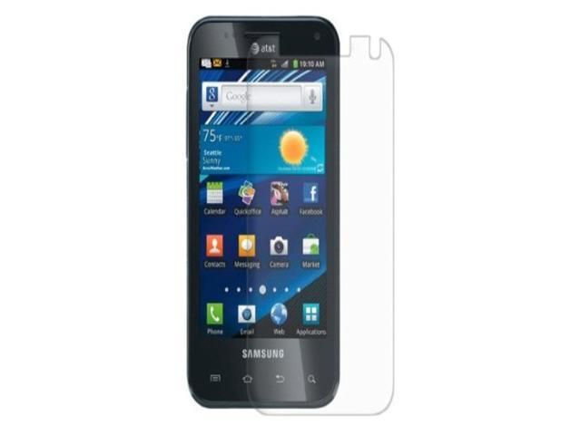 Amzer Anti-Glare Screen Protector with Cleaning Cloth For Samsung Captivate Glide SGH-I927