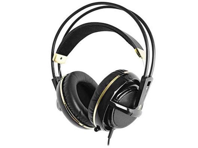 SteelSeries Siberia v2 Gaming Headset (Black & Gold)