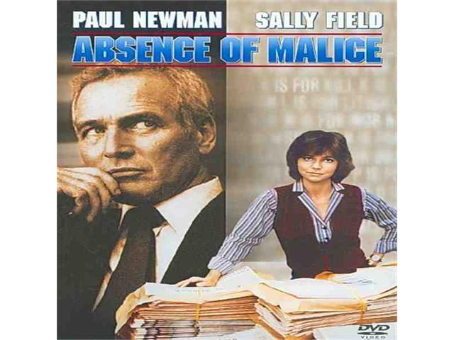 absence of malice essay Absence of malice does not invalidate all the president's men but with entertainment values -- and a moral sense -- every bit as high as that film's.
