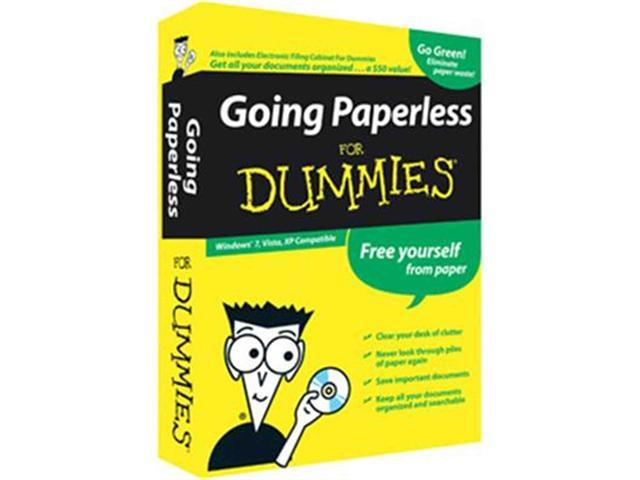 Going Paperless for Dummies