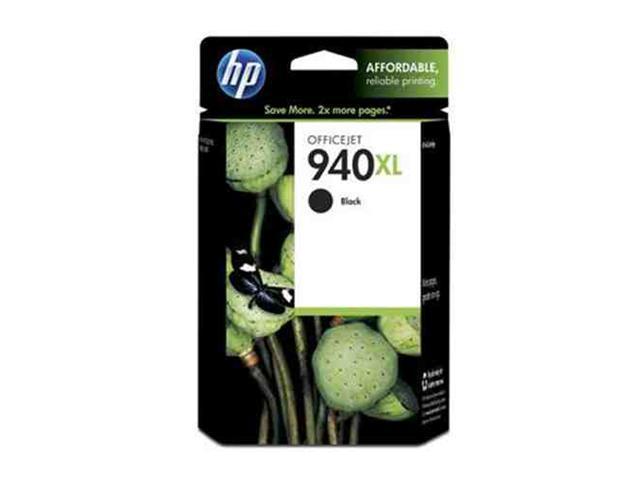 HP 940XL (C4906AN) High Yield Black Original Ink Cartridge