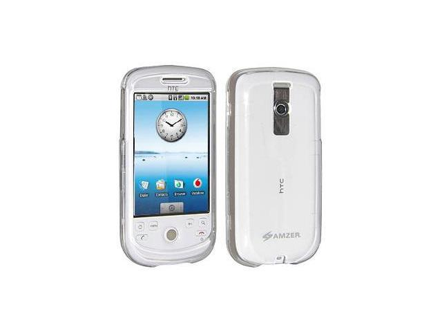 Amzer Clear Snap On Crystal Hard Case For HTC Magic