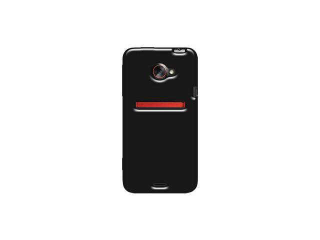 Amzer Soft Gel TPU Gloss Skin Case - Black For HTC EVO 4G LTE