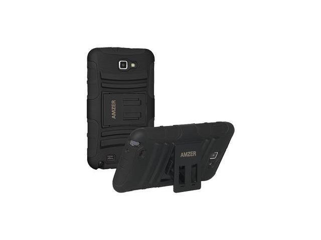 Amzer Hybrid Kickstand Case - Black For Samsung Galaxy Note,Samsung Galaxy Note SGH-I717